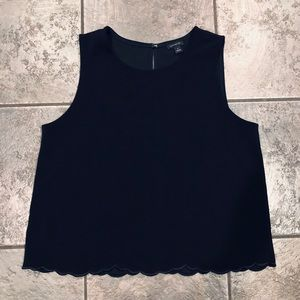 Ann Taylor Sleeveless Blouse